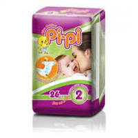 """Подгузники детские """"Pi-Pi"""" размер 4 Maxi 7-18кг (22шт в упаковке) Украина"""