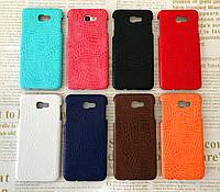 Чехол накладка бампер Croco для Samsung Galaxy J5 Prime G570f (прайм) (8 цветов)