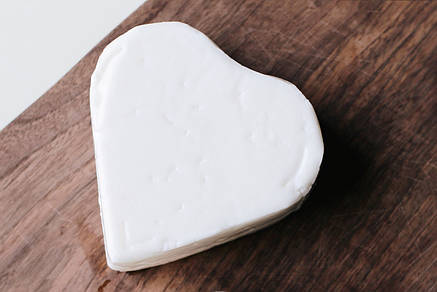 Zinka козий сыр полутвердый /сердечко 220g/  , фото 2