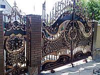 Кованые ворота(Арам)