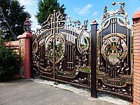 Кованые ворота (Тимур)
