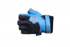 Перчатки для фитнеса PowerPlay 1733 blue женские размер XS