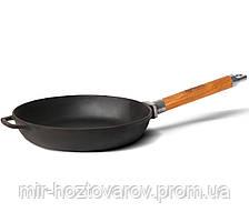 Сковорода чугунная со съемной ручкой-200 мм