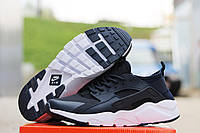 Кроссовки мужские Nike Huarache черно-белые