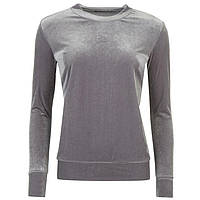 Свитшот женский Golddigga Velvet Top Ladies/ Grey, фото 1