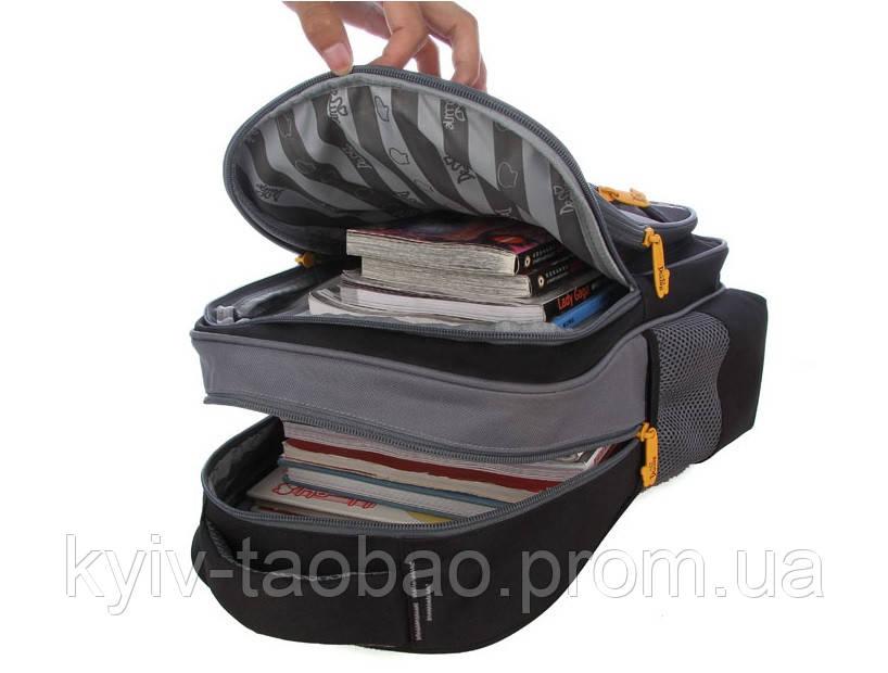 Школьный ортопедический рюкзак премиум класса DeLune 1-4 класс DeLune
