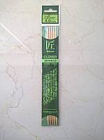 Спицы носочные бамбук Clover Takumi 20смх4,00мм