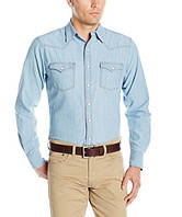 Джинсовая рубашка Wrangler Retro Western - Light Indigo (M)