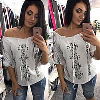 Блузка женская большие размеры /р7716, фото 1