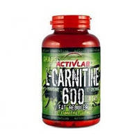 ActivLab L-Carnitine 600 with L-ornithine and L-arginine, 60 капсул