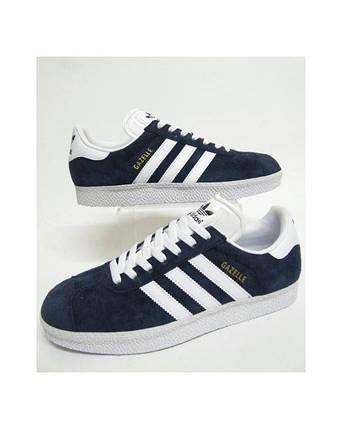 Кроссовки в стиле Adidas Gazelle Navy, фото 2
