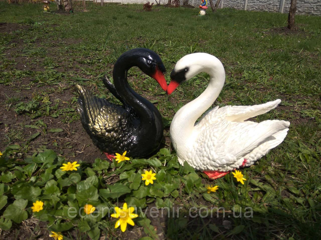 Садовые фигуры Лебеди - Производитель садовых фигур Еdем в Харькове