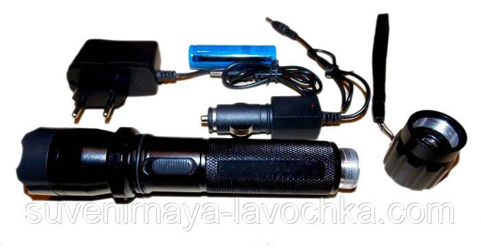 Качественный фонарик для охранника 1102 Скорпион