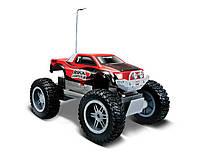 Автомодель на р/к Rock Crawler Jr. красно-чёрный MAISTO (81162 red/black)