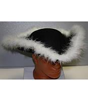 Шляпа пирата треуголка, купить оптом и розницей,MK 1408 KRK-0015