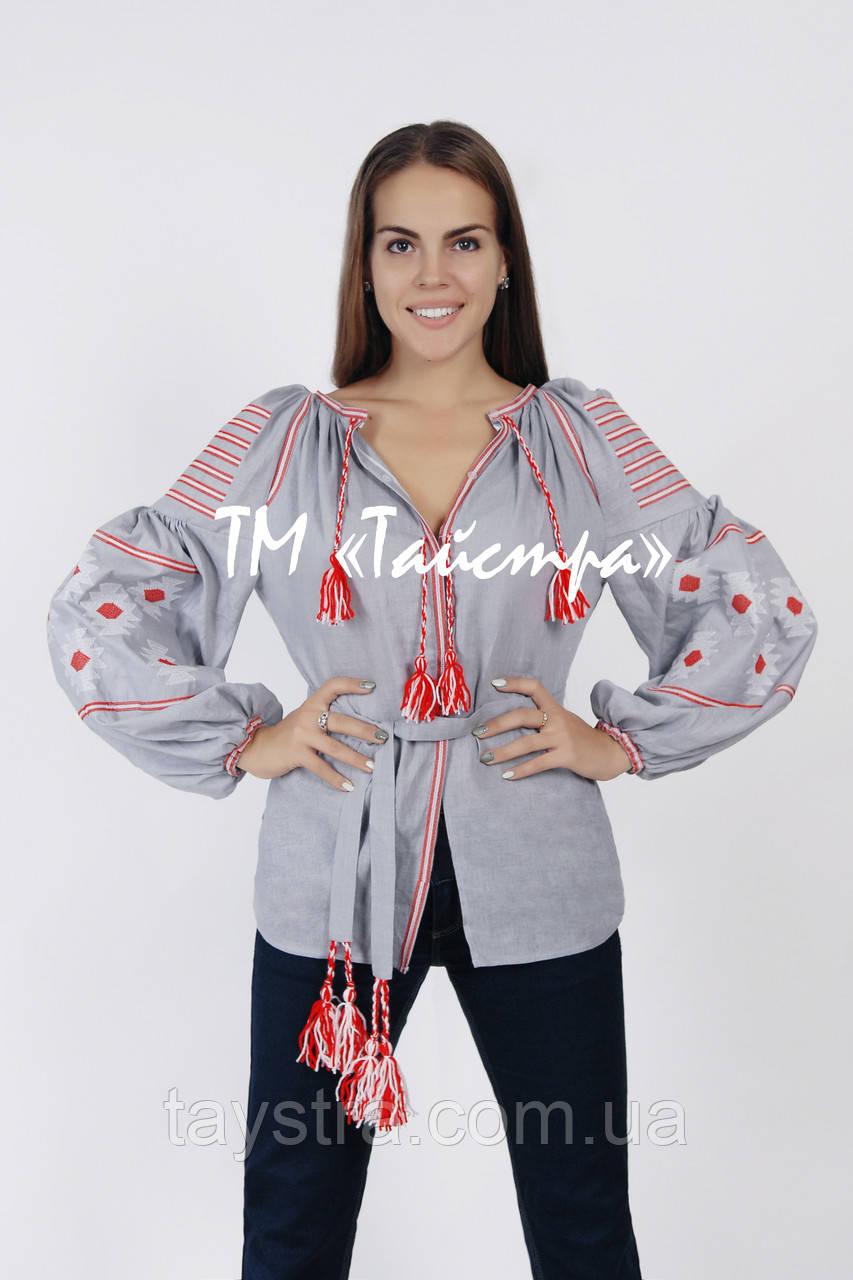 Вышиванка блузка женская, бохо, лен, этно стиль, Bohemia