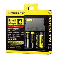 Универсальное зарядное устройство Nitecore SYSMAX Intellicharger I4