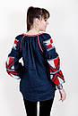 Блузка бохо вышитая, вышиванка, лен, этно стиль, Bohemia, фото 4