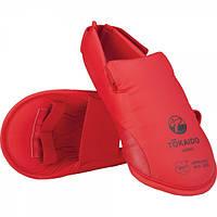 Футы для каратэ Tokaido WKF (Красные)