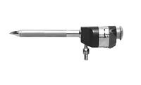 Троакар с магнитным шариковым клапаном и пирамидальным стилетом , диаметр 5.5/10.5 мм длина 110 мм Wanhe