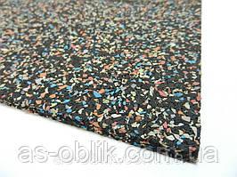 Спортивне гумове покриття Galaxy ЕПДМ 10% 25 мм