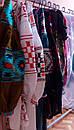 Блуза синяя бохо вышитая, вышиванка лен,в этностиле, фото 8