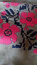 Голубая блузка бохо вышитая, вышиванка, лен, этно стиль, Bohemia, фото 8