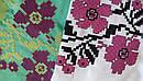 Голубая блузка бохо вышитая, вышиванка, лен, этно стиль, Bohemia, фото 9
