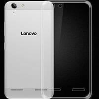 Силиконовый чехол накладка бампер для Lenovo A6020 / K5 / K5+ прозрачный