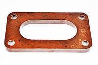 Прокладка карбюратора корпуса 2101 текстолит коричневая 1 отв.