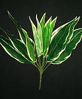 Букет листьев искусственных (желтый кант)