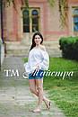 Блузка белая бохо вышитая женская, открытые плечи, этно стиль,Bohemia, фото 4