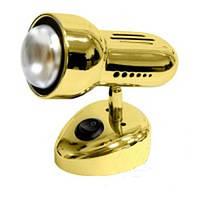 Поворотный светильник для подсветки RAD50 SS 1хR50, фото 1