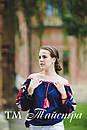 Блузка открытые плечи, бохо, вышитая, этно стиль,Bohemia, фото 3