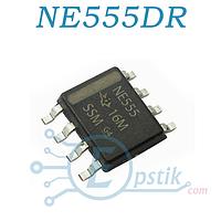 Микросхема таймер NE555DR (LM555, HA555, ECG955M, ICM7555), SOP-8