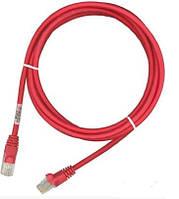 Патч-корд RJ45, 568B-N, FTP PowerCat 5e, LSZH, 1м, Красный