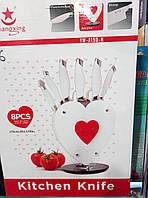 Набор кухонных ножей 8 предметов