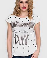 Женская коттоновая футболка (5050 sk)