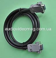 Кабель нуль-модемный rs-232 db-9 com port, длина 2 метра