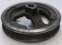 Шкив эл.двиг. D=125 для зернометателя ЗМ-60А