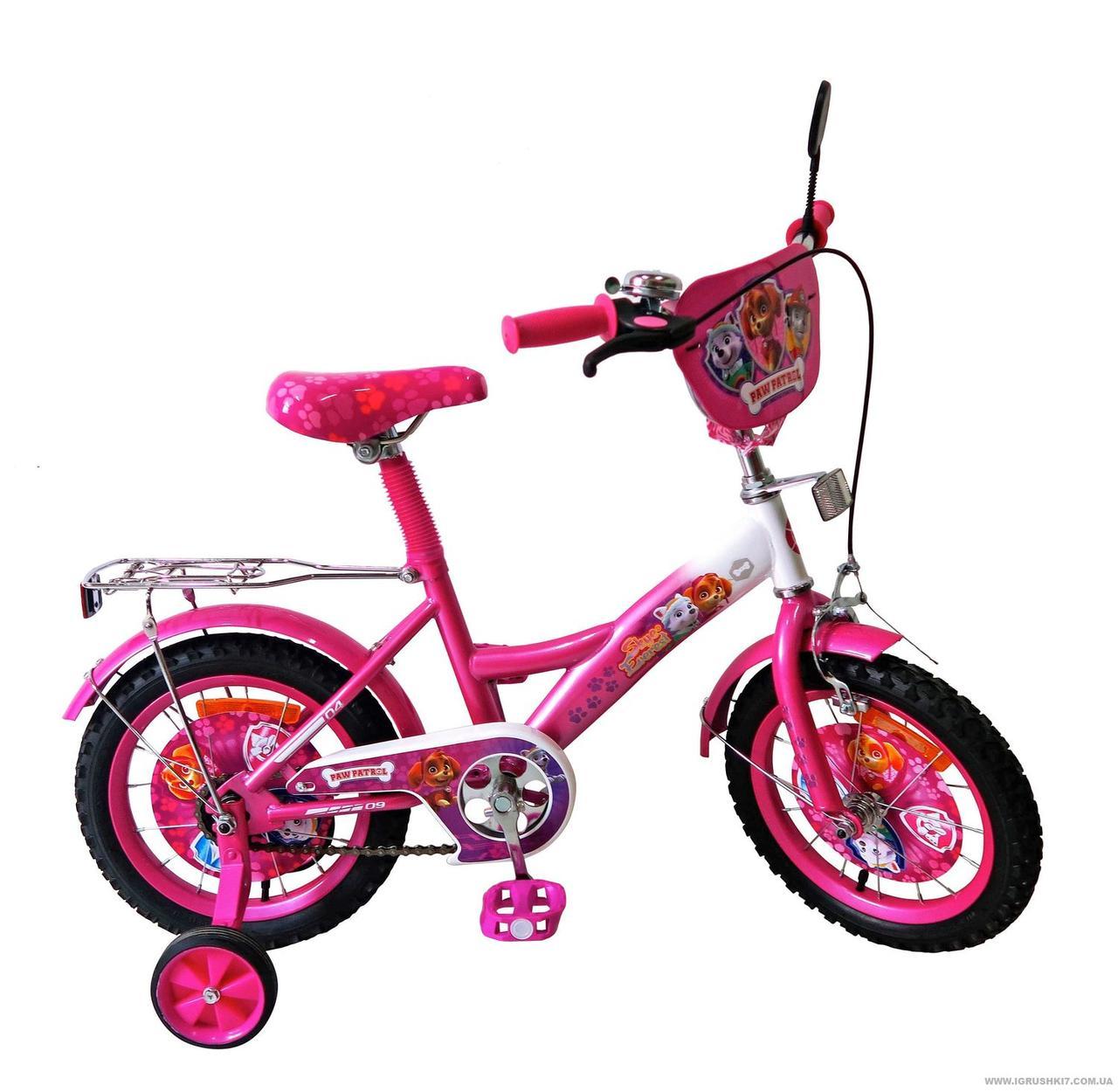 """Велосипед детский Щенячий патруль """"Paw Patrol"""" 16"""" 171641."""