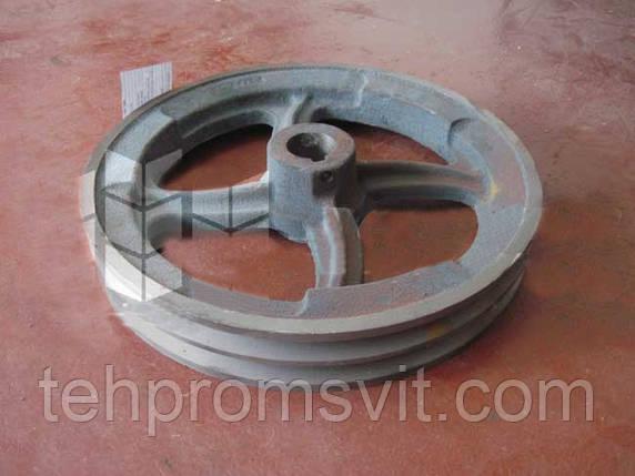 Шкив D=315 для зернометателя ЗМ-60А, фото 2
