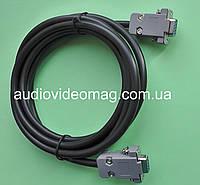 Кабель нуль-модемный rs-232 db-9 com port, длина 3 метра