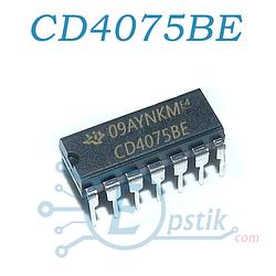 CD4075BE логический элемент ИЛИ, DIP-14