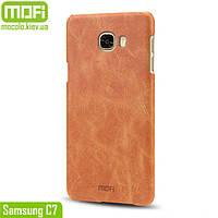 Чехол MOFi для Samsung C7 (Коричневый)