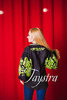 Блузка бохо вышитая, вышиванка,черный лен, этно стиль, Bohemian