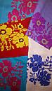 Вышиванка лен бохо блузка бирюзовая вышитая, этно стиль, Bohemian, фото 6