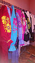 Вышиванка лен бохо блузка бирюзовая вышитая, этно стиль, Bohemian, фото 7