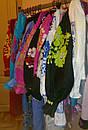 Вышиванка лен бохо блузка бирюзовая вышитая, этно стиль, Bohemian, фото 9