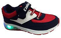 Детские текстильные кроссовки для мальчиков р. 25,26,27,28,29,30